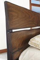 Queen Bed headboard detail