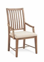 South Mountain Slat Back Dining Arm Chair