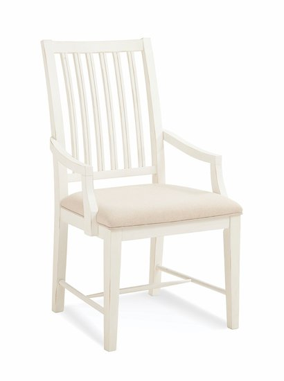 329-633A Slat Back Dining Arm Chair