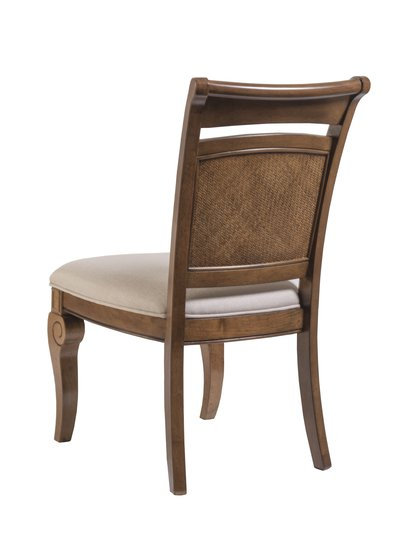 Bayshore side chair back