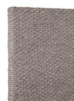 Grey Braided Headboard