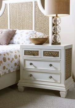 Bridgehampton bed and nightstand