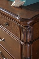 Isle of Palms Dresser Dark Detail