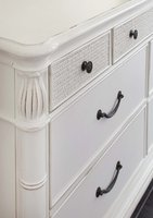 Isle of Palms Dresser White Detail