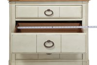 Front Millbrook 3 Drawer Nightstand