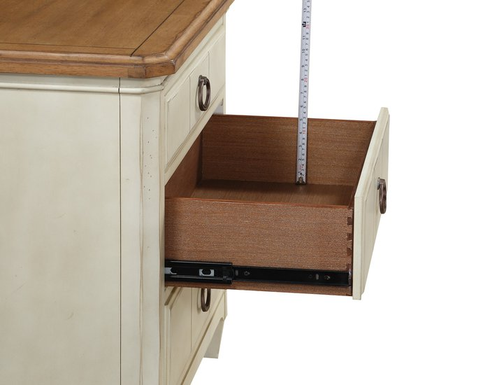 Millbrook 3 Drawer Nightstand Side