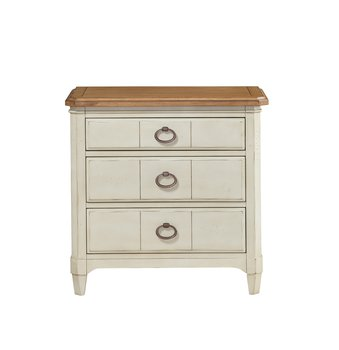 Millbrook 3 Drawer Nightstand