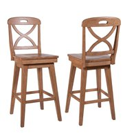 Millbrook X Back Swivel Bar Stool