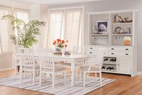 South Mountain Farmhouse White Dining Room