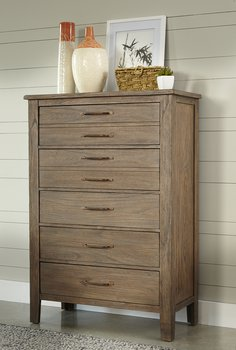 Driftwood 5 Drawer Chest