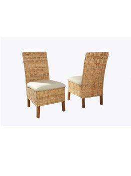 Driftwood Woven Side Chairs