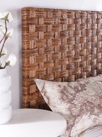 Banana Coffee Woven Headboard
